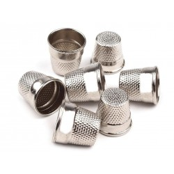 Thimble with bottom