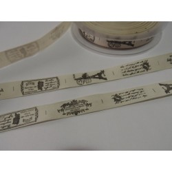 Label tape 15 mm cotton /...