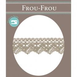 Cotton lace FROU-FROU 25 mm...