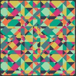 Patchwork fabric ART...