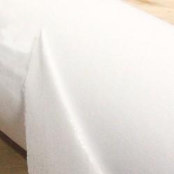 White cotton fusible...