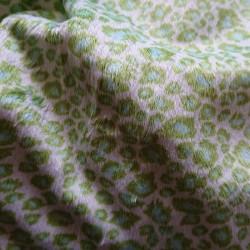 Printed minky velvet fabric...
