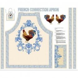 Tablier à coudre PAINTBRUSH STUDIO - French Connection 6701 - Panneau 87 x 110 cm