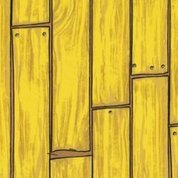 Patchwork fabric FABRI-QUILT - Funny Farm 23552 Yellow wooden board - Cutting 50 x 55 cm