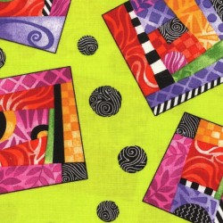 Patchwork fabric PAINTBRUSH STUDIO - Rio 6871 - Cutting 50 x 55 cm