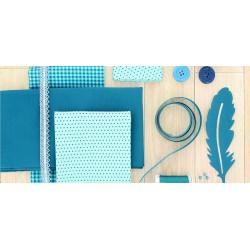 Cotton fabric FROU-FROU dot print / 10 cm