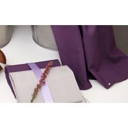 Cotton fabric FROU-FROU plain / 10 cm
